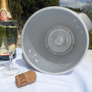 Vintage 'Champagne Massé' French Champagne Ice Bucket. Wine Cooler. Wine Chiller. Metal Ice Bucket. Champagne Cooler. 1950s Bar/Bistro Décor
