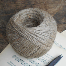Load image into Gallery viewer, Large, 350m/380 Yard, Bobbin of Natural Jute Twine. Rustic Twine for Crafting, Gift Wrapping, Gardening & Home Décor. Ball of Jute Twine.