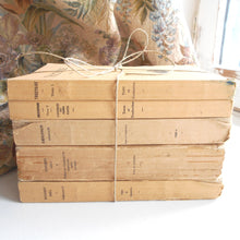 Load image into Gallery viewer, Beige Book Stack of Five Vintage French Books. Book Bundle of Classic Greek Literature by Aristophanes, Thucydides, Xenophon & Theocritus.