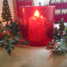 Load image into Gallery viewer, Festive Re Purposed Rémy Martin Ice Bucket