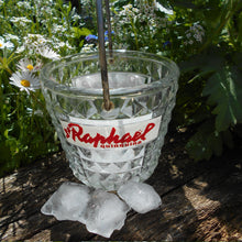 Load image into Gallery viewer, French 1950's Saint Raphaël Quinquina Apéritif Ice Bucket. Retro, Outdoor Candle Hanging Lantern. Home Décor Gift.