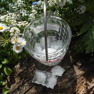 French 1950's Saint Raphaël Quinquina Apéritif Ice Bucket. Retro, Outdoor Candle Hanging Lantern. Home Décor Gift.