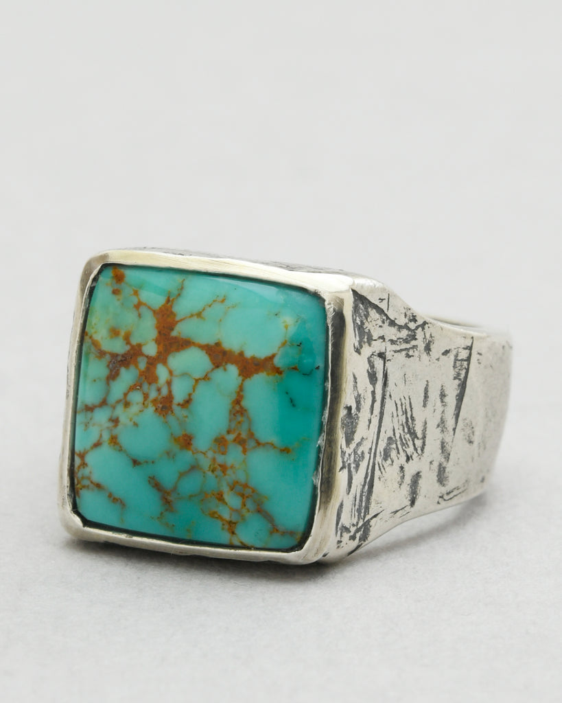 Kingman Arizona Turquoise Square Ring