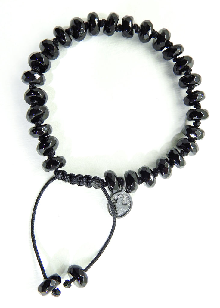 Black Onyx Polished Bracelet