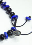 Blue Tiger Eye and Lapiz Lazuli Bracelet