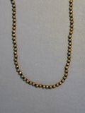 Brass Titanium Hematite Necklace