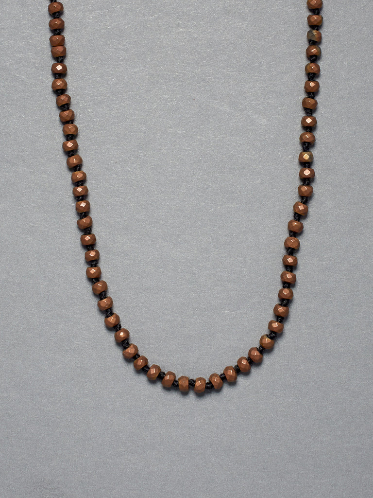 Copper Titanium Hematite Necklace