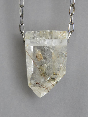 Gold Rutile Quartz Crystal