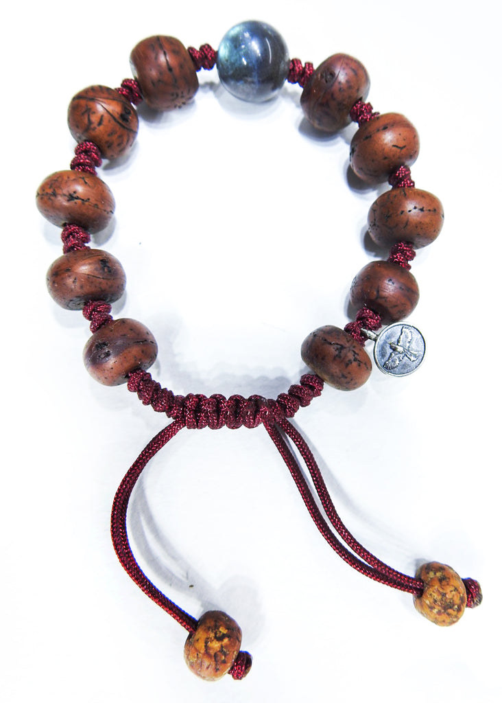 Tibeten Prayer Beads with Labradorite