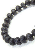 Black Natural Lava Bracelet