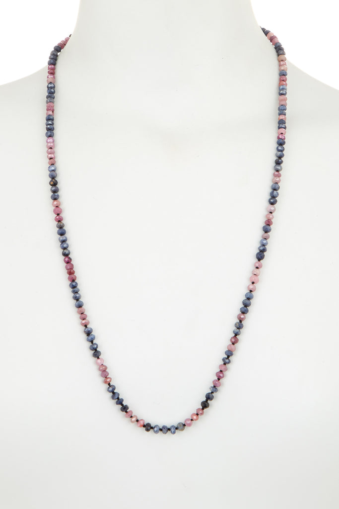 natural faceted necklace joseph jewelry brooks sapphire pink products blue rondelle
