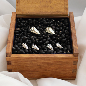 Arrowhead Studs & Cuff Set - Sterling Silver