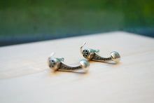 Load image into Gallery viewer, Chili Pepper Studs & Cuff Link Set - Sterling Silver