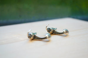 Chili Pepper Studs & Cuff Link Set - Sterling Silver