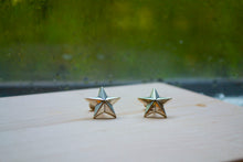 Load image into Gallery viewer, Star Cuff Links - Sterling Silver