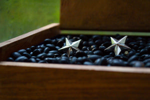 Star Cuff Links - Sterling Silver