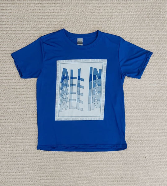 All in Performance tee