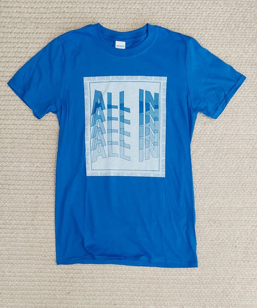 All in cotton tee