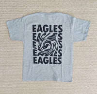YOUTH-Grey Eagles Swirl Tee