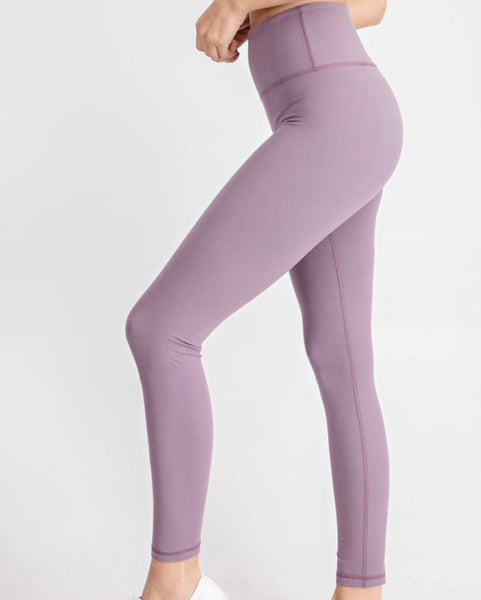 Mauve Butter Soft Leggings
