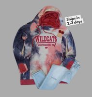 Tie-Dye Whitehouse Wildcats Sweatshirt