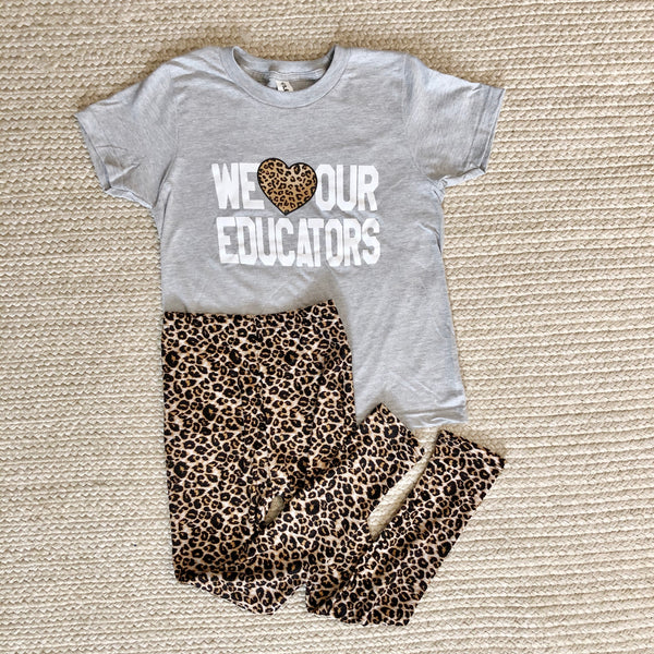 YOUTH - Leopard Leggings