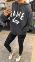 Gray Game Day Hoodie