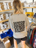 Senior 2021 Pocket Tee - Black Font