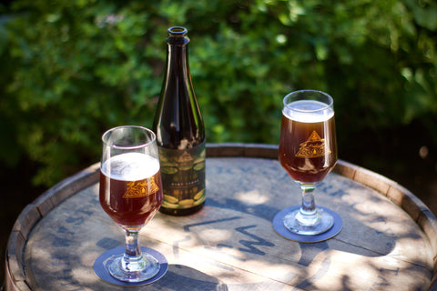 Dirt Candy in glasses from The Good Wolf Brewing