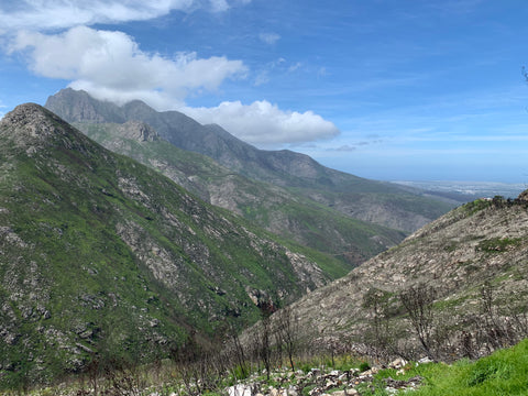 Outeniqua Pass in South Africa