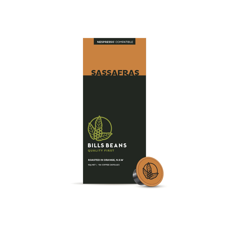 Sassafras Blend - Nespresso Capsules Subscription - Orange Local