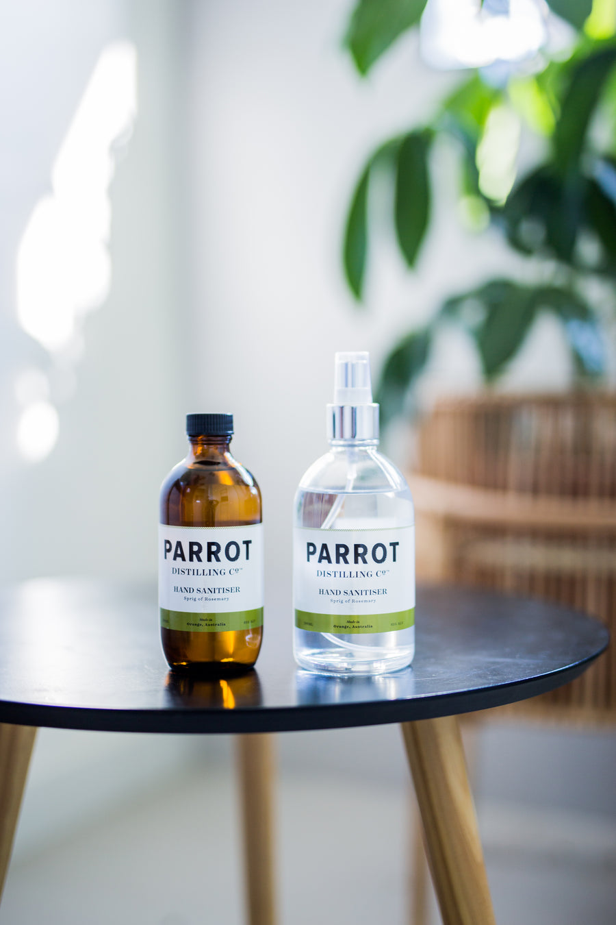 Parrot Distilling Co. Hand Sanitiser Spray