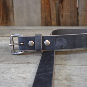 Crazy Horse Gray Buffalo & Roller Buckle
