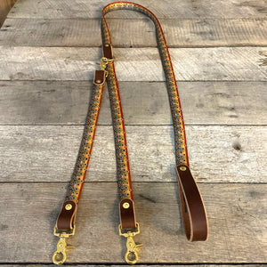 The Whiskey Double Dog Leash