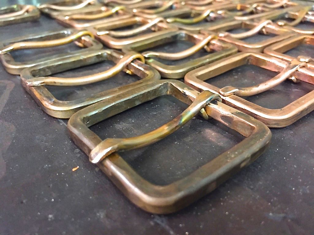 All Rustic Copper Buckle Belts