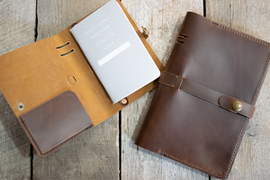 Small and Large Notebook Folio
