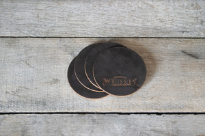 Leather Coaster Sets