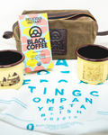 Black Coffee Roasting Camping Kit