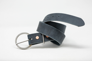 Circle Rustic Stainless Steel Buckle Belts