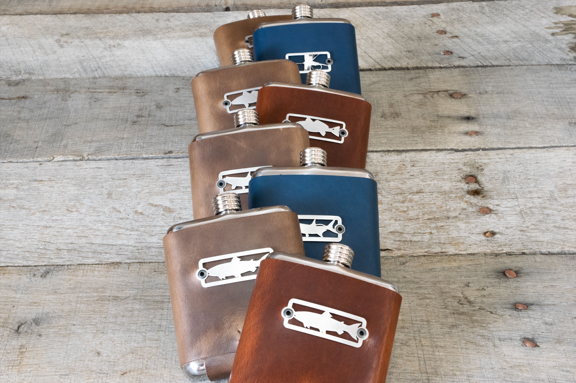 Sight Line Provisions & Whiskey Leatherworks - The Stainless Series -