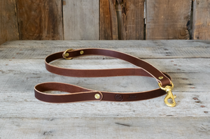 Full Leather Dog Leash