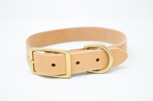 Full Leather Dog Collar