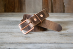 Rustic Copper & Natural Brown Horween Chromexcel