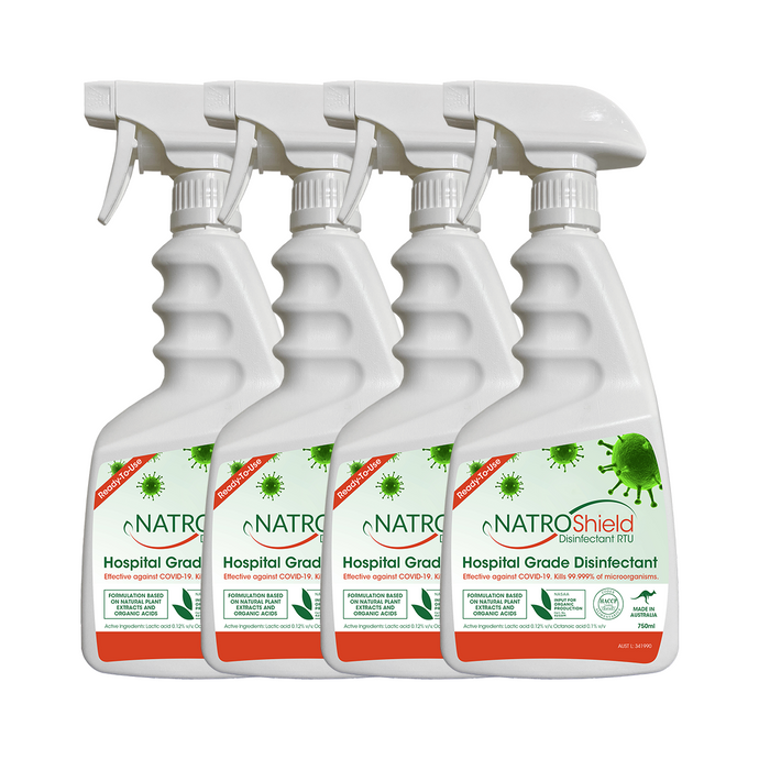 Natroshield Disinfectant RTU (Ready-To-Use) 4 Pack - FREE SHIPPING