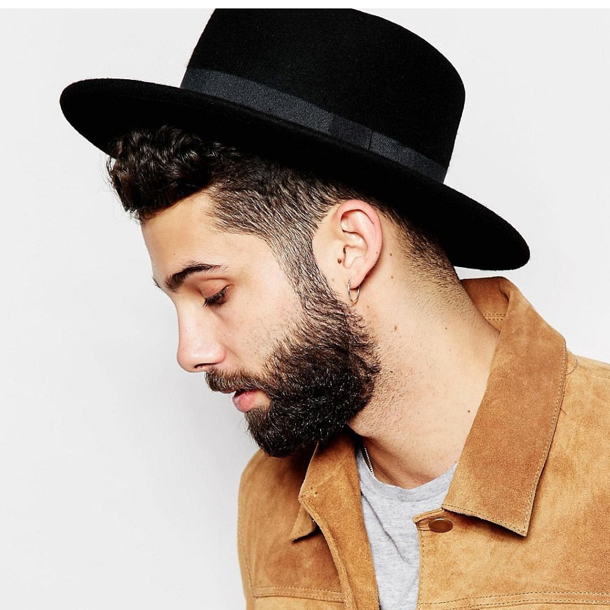 Boater Flat Top Hat - PAYMUK