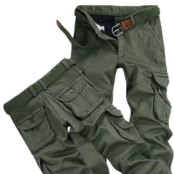 Winter Cargo Pants - PAYMUK