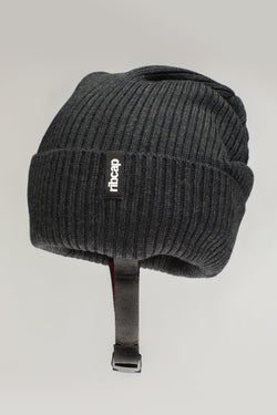 Lenny Beanie helmet hat in Anthracite by Ribcap