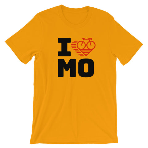 I LOVE CYCLING MISSOURI - Short-Sleeve Unisex T-Shirt