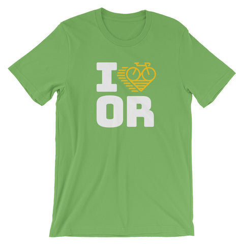 I LOVE CYCLING OREGON - Short-Sleeve Unisex T-Shirt