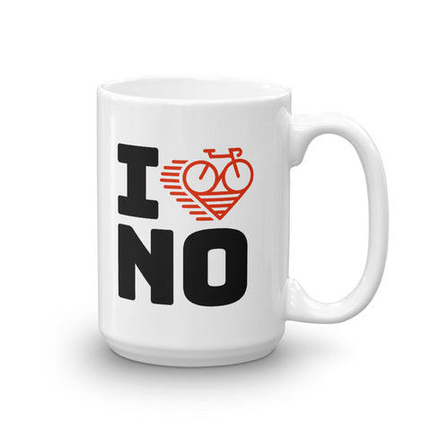 I LOVE CYCLING NORWAY - Mug
